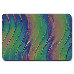 Texture Abstract Background Large Doormat