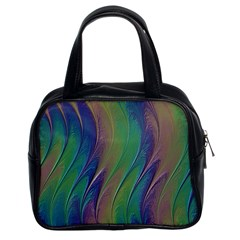 Texture Abstract Background Classic Handbags (2 Sides)