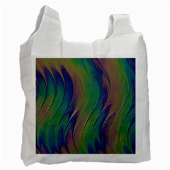 Texture Abstract Background Recycle Bag (Two Side)