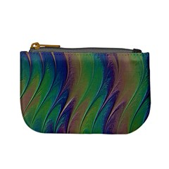 Texture Abstract Background Mini Coin Purses