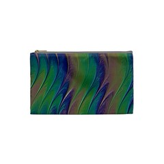 Texture Abstract Background Cosmetic Bag (Small)