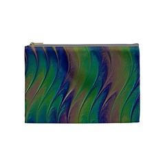 Texture Abstract Background Cosmetic Bag (medium)