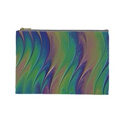 Texture Abstract Background Cosmetic Bag (Large)