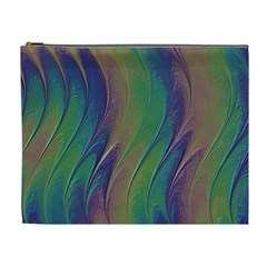 Texture Abstract Background Cosmetic Bag (XL)