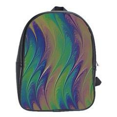 Texture Abstract Background School Bags(large)