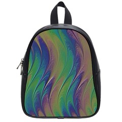 Texture Abstract Background School Bags (small)