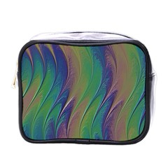 Texture Abstract Background Mini Toiletries Bags