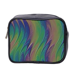 Texture Abstract Background Mini Toiletries Bag 2-Side