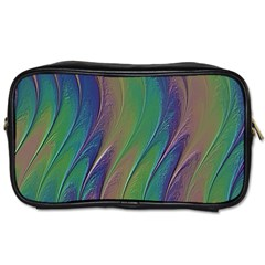 Texture Abstract Background Toiletries Bags 2 Side