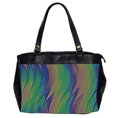 Texture Abstract Background Office Handbags (2 Sides)