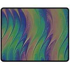 Texture Abstract Background Fleece Blanket (medium)