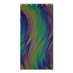 Texture Abstract Background Shower Curtain 36  X 72  (stall)