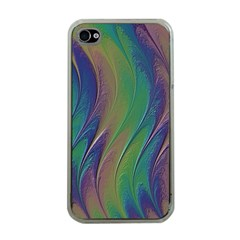 Texture Abstract Background Apple iPhone 4 Case (Clear)