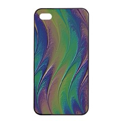 Texture Abstract Background Apple Iphone 4/4s Seamless Case (black)
