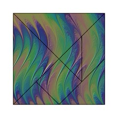 Texture Abstract Background Acrylic Tangram Puzzle (6  x 6 )