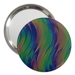 Texture Abstract Background 3  Handbag Mirrors