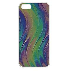 Texture Abstract Background Apple Iphone 5 Seamless Case (white)