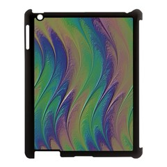 Texture Abstract Background Apple iPad 3/4 Case (Black)
