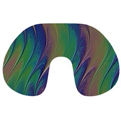 Texture Abstract Background Travel Neck Pillows