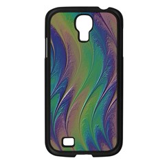 Texture Abstract Background Samsung Galaxy S4 I9500/ I9505 Case (black)