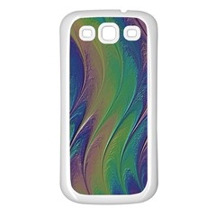 Texture Abstract Background Samsung Galaxy S3 Back Case (white)