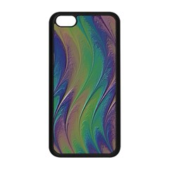 Texture Abstract Background Apple iPhone 5C Seamless Case (Black)
