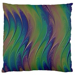 Texture Abstract Background Large Flano Cushion Case (one Side)