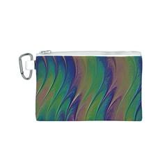 Texture Abstract Background Canvas Cosmetic Bag (s)