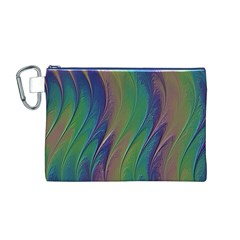 Texture Abstract Background Canvas Cosmetic Bag (M)