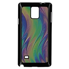 Texture Abstract Background Samsung Galaxy Note 4 Case (Black)