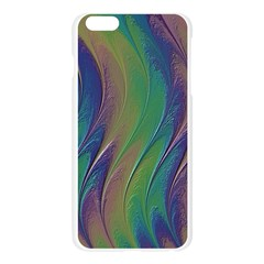 Texture Abstract Background Apple Seamless iPhone 6 Plus/6S Plus Case (Transparent)