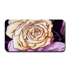 Texture Flower Pattern Fabric Design Medium Bar Mats