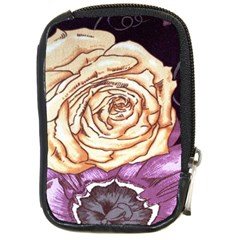 Texture Flower Pattern Fabric Design Compact Camera Cases