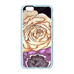 Texture Flower Pattern Fabric Design Apple Seamless iPhone 6/6S Case (Color)