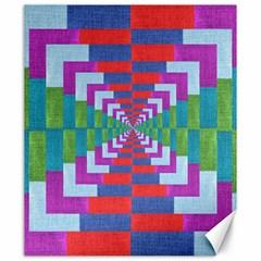 Texture Fabric Textile Jute Maze Canvas 20  X 24