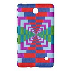 Texture Fabric Textile Jute Maze Samsung Galaxy Tab 4 (8 ) Hardshell Case