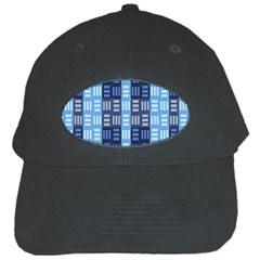 Textile Structure Texture Grid Black Cap