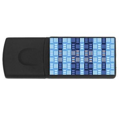 Textile Structure Texture Grid USB Flash Drive Rectangular (1 GB)