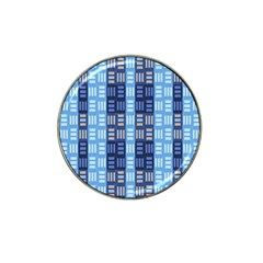 Textile Structure Texture Grid Hat Clip Ball Marker (4 pack)