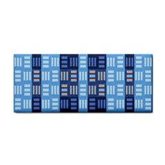 Textile Structure Texture Grid Cosmetic Storage Cases