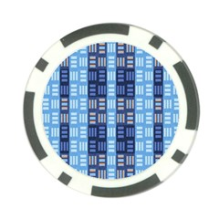 Textile Structure Texture Grid Poker Chip Card Guard (10 pack)