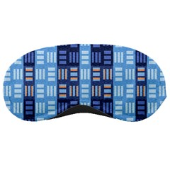 Textile Structure Texture Grid Sleeping Masks