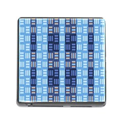 Textile Structure Texture Grid Memory Card Reader (square)