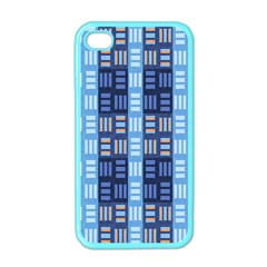 Textile Structure Texture Grid Apple Iphone 4 Case (color)