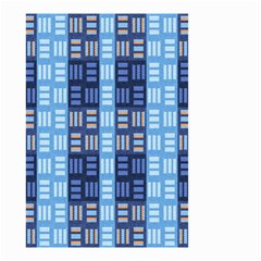 Textile Structure Texture Grid Small Garden Flag (two Sides)