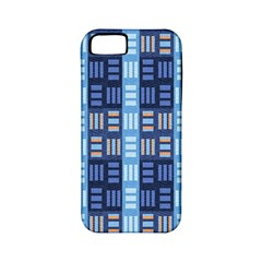 Textile Structure Texture Grid Apple Iphone 5 Classic Hardshell Case (pc+silicone)