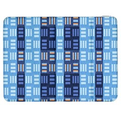 Textile Structure Texture Grid Samsung Galaxy Tab 7  P1000 Flip Case
