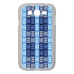 Textile Structure Texture Grid Samsung Galaxy Grand DUOS I9082 Case (White)
