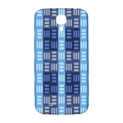 Textile Structure Texture Grid Samsung Galaxy S4 I9500/I9505  Hardshell Back Case