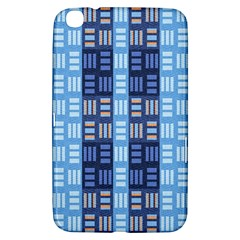 Textile Structure Texture Grid Samsung Galaxy Tab 3 (8 ) T3100 Hardshell Case